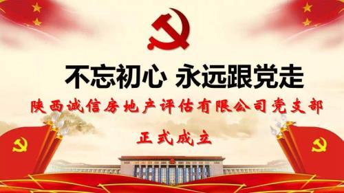 陕西u赢电竞ios房地产u赢电竞安全吗有限公司党支部正式成立
